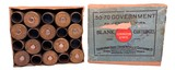 Collectible Ammo: Full Box 20 Cartridges of Remington Union Metallic Cartridge Co .50-70 Government BLANK REM #441 - 1 of 8