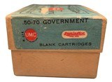 Collectible Ammo: Full Box 20 Cartridges of Remington Union Metallic Cartridge Co .50-70 Government BLANK REM #441 - 6 of 8