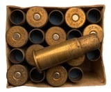 Collectible Ammo: Full Box 20 Cartridges of Remington Union Metallic Cartridge Co .50-70 Government BLANK REM #441 - 8 of 8