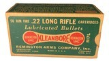 Collectible Ammo: Partial Brick 450 Rounds of Remington 22LR Kleanbore Cartridges R17L in the Dog Bone Box - 2 of 9