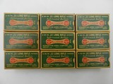 Collectible Ammo: Partial Brick 450 Rounds of Remington 22LR Kleanbore Cartridges R17L in the Dog Bone Box - 8 of 9