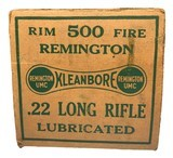 Collectible Ammo: Partial Brick 450 Rounds of Remington 22LR Kleanbore Cartridges R17L in the Dog Bone Box - 5 of 9