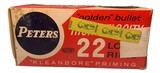 Collectible Ammo: Partial Brick 473 Rounds of Peters Kleanbore High Velocity 22 Long Rifle No. 2283 - 5 of 9