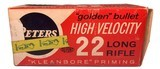 Collectible Ammo: Partial Brick 473 Rounds of Peters Kleanbore High Velocity 22 Long Rifle No. 2283 - 3 of 9
