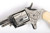Antique Engraved Kittemaug Spur Trigger Pocket Revolver - 7 of 14