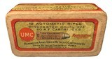 Collectible Ammo: Full Box 50 Rounds of Remington UMC .22 Automatic Rifle for Winchester 1903 - 2 of 7