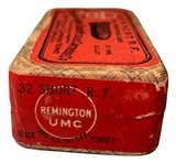 Collectible Ammo: Full Sealed Box 50 Rounds of Remington UMC .32 Short Rimfire - 2 of 5