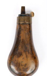 Antique Unmarked Small Powder Flask - 2 of 5