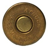 Collectible Ammo: Full Box 5 Kynoch .375 Magnum Flanged Nitro Express Cartridges For Hollands Double Barreled Rifles Copper Capped 300 Grns. Dated 19 - 9 of 10