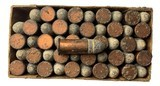 Collectible Ammo: Full Box of 50 Rounds Winchester .38 Short Rim Fire Rifle Cartridges Dated 7-21 Win #52 - 7 of 7