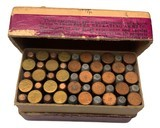 Collectible Ammo: Mixed Box 50 Rounds of Winchester .22 W.R.F. Caliber Win #23 Dated 11-10 - 7 of 8