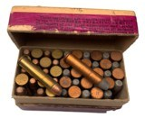 Collectible Ammo: Mixed Box 50 Rounds of Winchester .22 W.R.F. Caliber Win #23 Dated 11-10 - 8 of 8