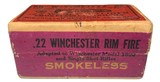 Collectible Ammo: Mixed Box 50 Rounds of Winchester .22 W.R.F. Caliber Win #23 Dated 11-10 - 2 of 8