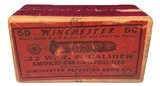 Collectible Ammo: Mixed Box 50 Rounds of Winchester .22 W.R.F. Caliber Win #23 Dated 11-10 - 1 of 8