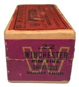 Collectible Ammo: Mixed Box 50 Rounds of Winchester .22 W.R.F. Caliber Win #23 Dated 11-10 - 5 of 8