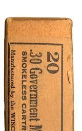 Collectible Ammo: Mixed Box 20 Spent Casings of Winchester .30 Government Model 1906 Pointed Full Patch (.30-06) Adapted to U.S. Rifle 1906 an - 5 of 8