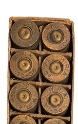 Collectible Ammo: Mixed Box 20 Spent Casings of Winchester .30 Government Model 1906 Pointed Full Patch (.30-06) Adapted to U.S. Rifle 1906 an - 7 of 8