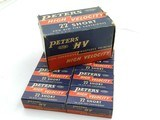 Collectible Ammo: One complete 500-round brick of Peters High Velocity .22 Short No. 2267 - 1 of 17