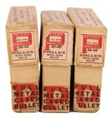 Collectible Ammo: Partial/Mixed Boxes 43 Rounds of Peters .30-40 Krag and Win. -220 Grs. Adapted Krag Jorgensen and Winchester Model 1895 Peter #3068 - 5 of 8