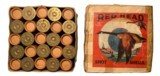 Collectible Ammo: Full Box 25 Rounds Of Redhead Reliance 12 Ga. 3 1/4-1 1/8-6 ch - 1 of 9