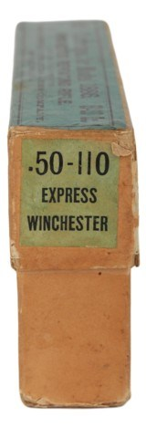 Collectible Ammo: Full Box 20 Rounds of Winchester .50-110 Winchester Express For 1886 Rifle 300 Grain - 2 of 10