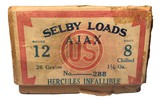 Collectible Ammo: Mismatched Boxes, 74 Rounds of US AJAX, Selby Shotgun Loads Excelsior Grade, and Hercules Infallible - 10 of 19