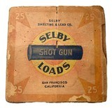Collectible Ammo: Mismatched Boxes, 74 Rounds of US AJAX, Selby Shotgun Loads Excelsior Grade, and Hercules Infallible - 14 of 19