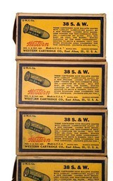 Collectible Ammo: Partial Brick 240 Rounds of Western .38 S&W 145 Grain Lubaloy Ammunition - 9 of 15