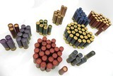 collectible ammo: 100 pieces vintage 16 gauge shotshells, peters, remington, winchester, western, redhead, federal, sears