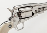 """Stainless Ruger Old Army Percussion Revolver .45, 5-1/2"""" Barrel, Fixed Sights, Provenance: William """"Bill"""" Lett Collection - 7 of 11"""