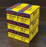 collectible ammo: 6 boxes300 rounds of western xpert .22 long rifle greased xp22lrwestern carton included