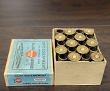 Collectible Ammo: Full Box - 20 Rounds of .50-70 Government Blank Remington UMC Cartridges - 441 - 3 of 6