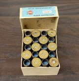 Collectible Ammo: Full Box - 20 Rounds of .50-70 Government Blank Remington UMC Cartridges - 441 - 5 of 6