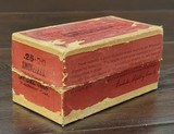 Collectible Ammo: Full Box - 50 Rounds of .25-20 Winchester Smokeless Soft Point - Winchester 96grs. for Model 1892 - 4 of 10