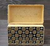 Collectible Ammo: Full Box - 50 Rounds of .25-20 Winchester Smokeless Soft Point - Winchester 96grs. for Model 1892 - 7 of 10