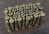 Collectible Ammo: Full Box - 50 Rounds of .25-20 Winchester Smokeless Soft Point - Winchester 96grs. for Model 1892 - 9 of 10