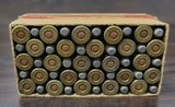 Collectible Ammo: Full Box - 50 Rounds of .25-20 Winchester Smokeless Soft Point - Winchester 96grs. for Model 1892 - 8 of 10