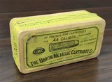 Collectible Ammo: Partial Box - 41 Rounds of .44 Winchester - Union Metallic Cartridges .44-40 WCF Winchester 40grs. Powder 217 grs. Bullet