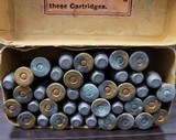 Collectible Ammo: Partial Box - 41 Rounds of .44 Winchester - Union Metallic Cartridges .44-40 WCF Winchester 40grs. Powder 217 grs. Bullet - 6 of 8