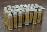 Collectible Ammo: Partial Box - 41 Rounds of .44 Winchester - Union Metallic Cartridges .44-40 WCF Winchester 40grs. Powder 217 grs. Bullet - 8 of 8
