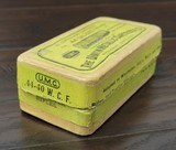 Collectible Ammo: Partial Box - 41 Rounds of .44 Winchester - Union Metallic Cartridges .44-40 WCF Winchester 40grs. Powder 217 grs. Bullet - 4 of 8