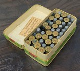 Collectible Ammo: Partial Box - 35 Rounds of .44 Winchester - Union Metallic Cartridge Co. .44 Winchester 40grs. Powder 200 gr. Bullet Black Powder - 7 of 11