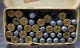 Collectible Ammo: Partial Box - 35 Rounds of .44 Winchester - Union Metallic Cartridge Co. .44 Winchester 40grs. Powder 200 gr. Bullet Black Powder - 9 of 11