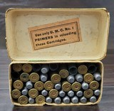 Collectible Ammo: Partial Box - 35 Rounds of .44 Winchester - Union Metallic Cartridge Co. .44 Winchester 40grs. Powder 200 gr. Bullet Black Powder - 8 of 11