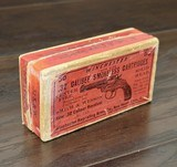 collectible ammo: full box50 rounds of winchester repeating arms co. .32 s&w caliber smokeless cartridgessolid head