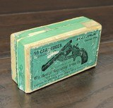 collectible ammo: full box50 rounds of winchester repeating arms co..38 caliber / .38 s&w c. f.solid head