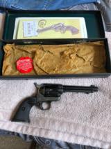 Colt Saa 38 cal 51/2 black box unfired