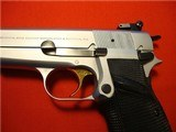 BELGIUM BROWNING HI-POWER 9mm 1982 SILVER CHROME ****NEW IN POUCH**** - 4 of 13