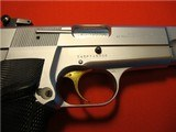 BELGIUM BROWNING HI-POWER 9mm 1982 SILVER CHROME ****NEW IN POUCH**** - 3 of 13