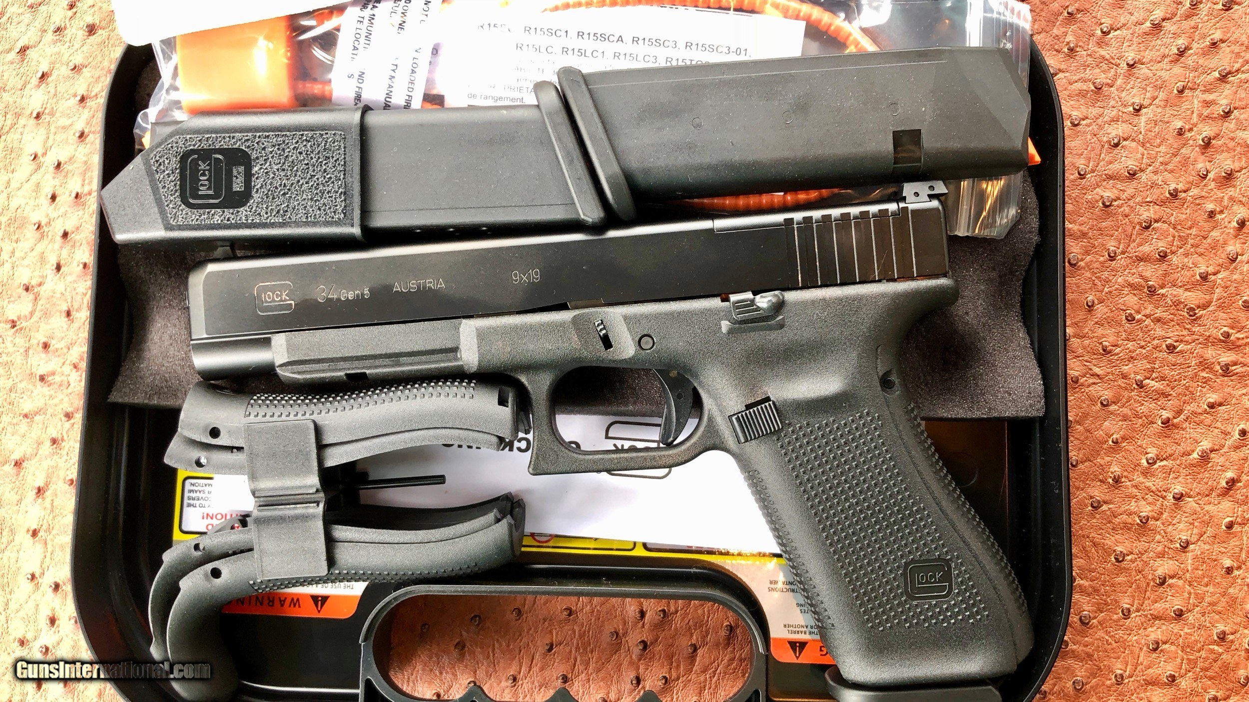 Glock 34 Gen 5 Mos This is a brand new in the box glock 34. glock 34 gen 5 mos
